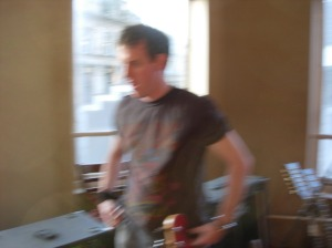 Off focus in this pic but during the writing of WdB1 Greg had a very clear goal. To create some brilliant bass.
