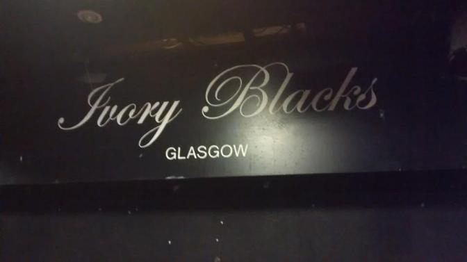 Gig Diary. Ivory Blacks. 6th Nov 2014