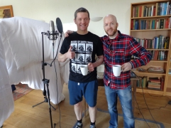 Pabs and Stu. Victory coffees
