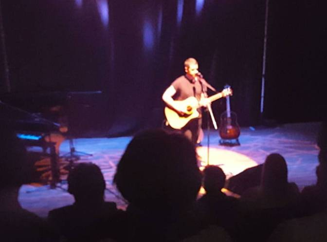 Pablo played the Tolbooth Stirling 3rd October 2015