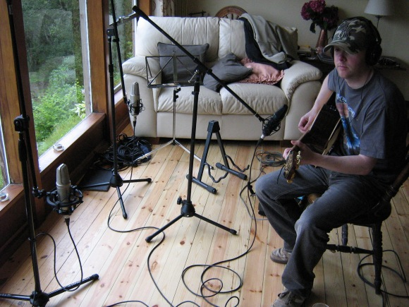 Here comes the acoustic album. We have done one acoustic album to date.