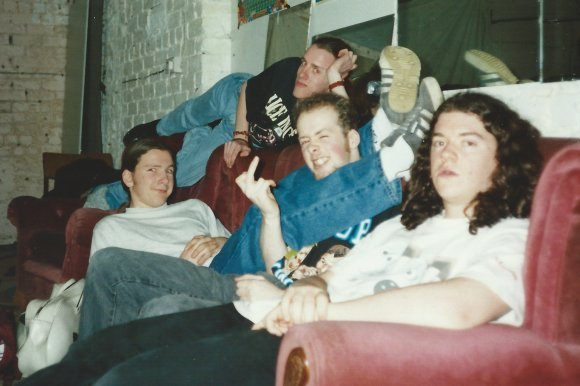 Sofa Guys. The great early days of the band. The time we wrote all of Whapper Stormer