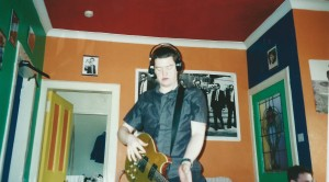 This is around the time we recorded One More Solo. Loads of beer and subways made me 'cuddly'