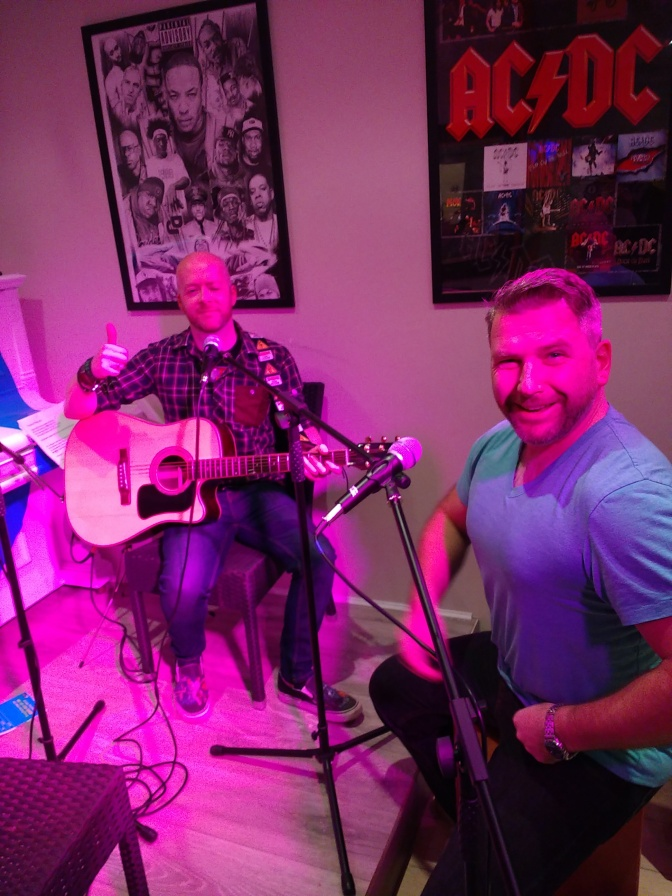 Weird Decibels in session at Stirling City Radio (the story)
