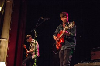 There was an edge to Fly Jaclkson at Shuffle, my fav show of theirs to date. Pic Gregor Boyd