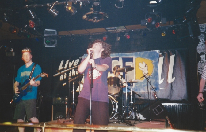 Our First gig. Martell. 17th Aug 1995