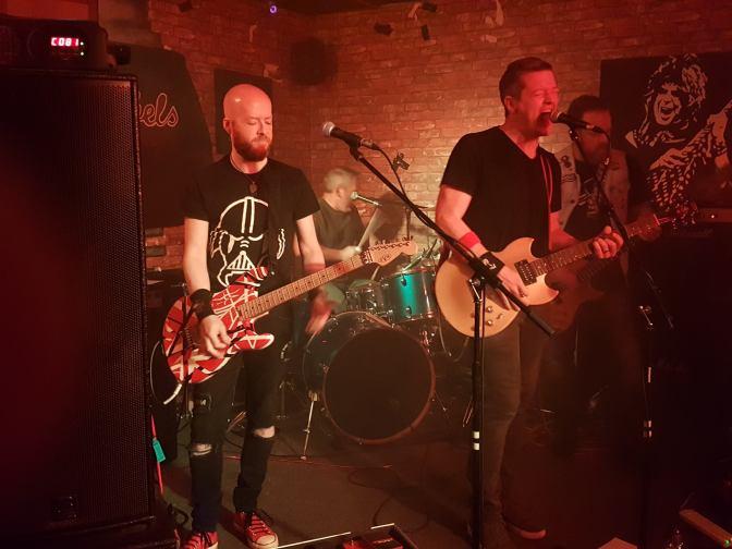 Gig Diary. Montys Bar Dunfermline 22/06/2018